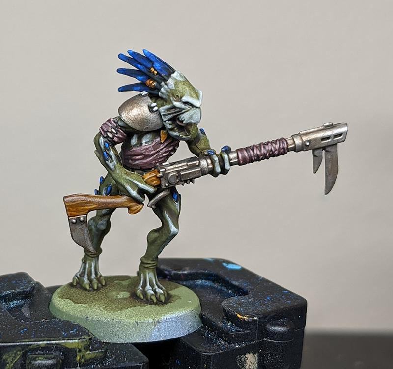 Kroot - Metals and Details
