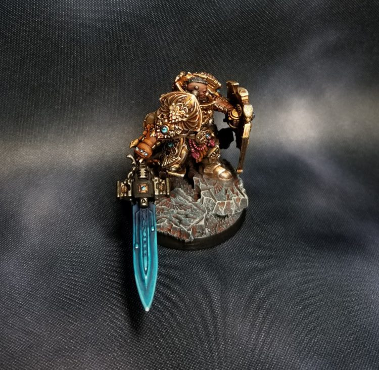 Adeptus Custodes Power Weapon Sentinel Blade