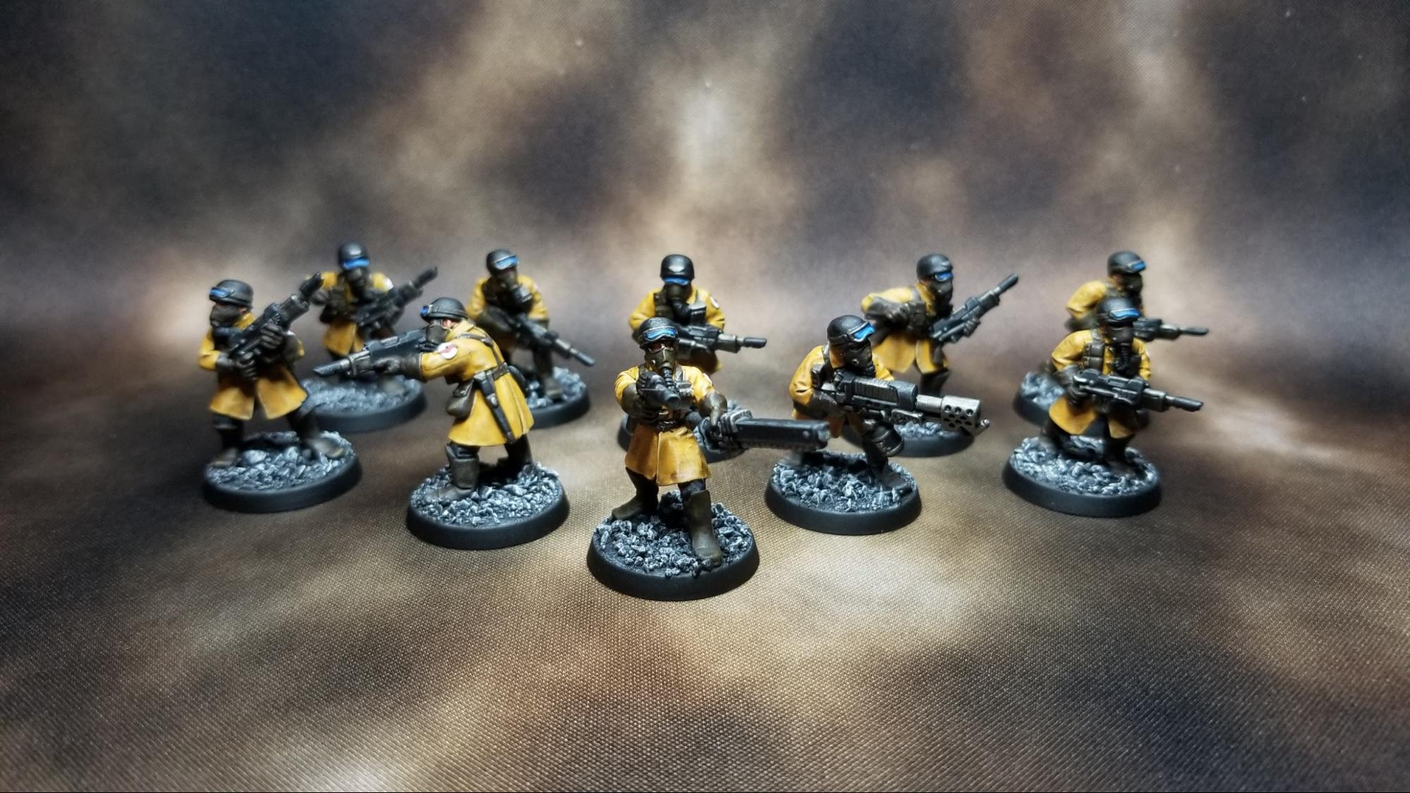 b Warhammer 40K space marines tactical squad épaulettes