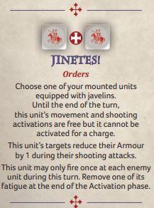 Jinetes battleboard ability