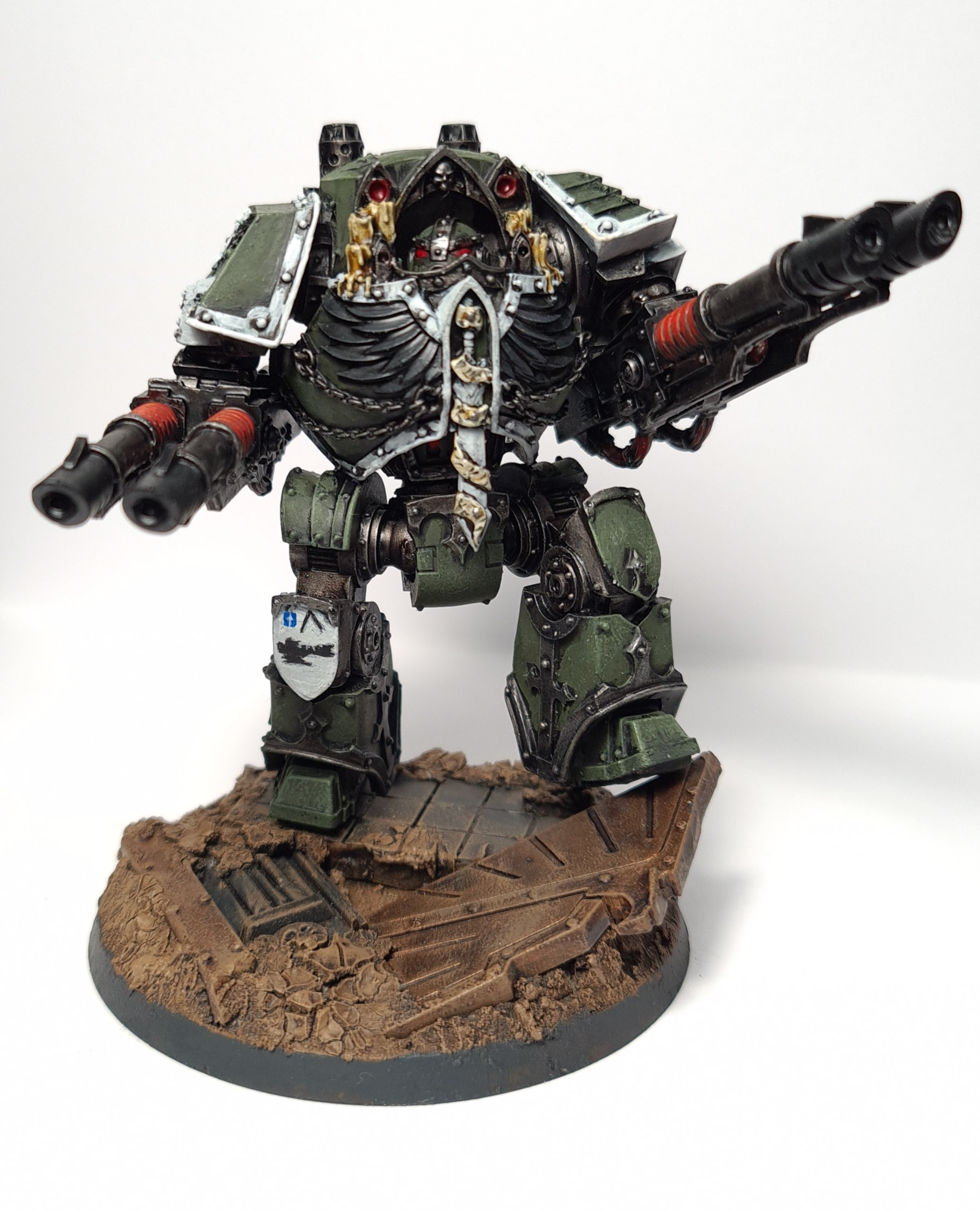 "Balan of Squad Safir. Swords of Davion Contemptor Dreadnought Credit: Tyler ""Coda"" Moore"