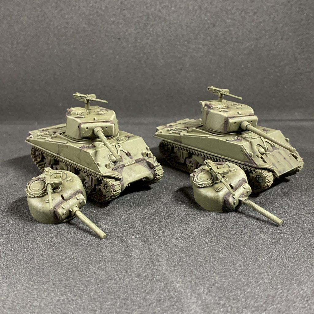 M4A3E Shermans. Credit: Pvt_Snafu