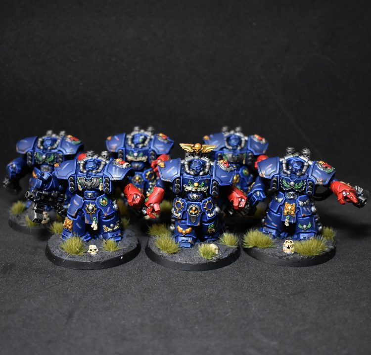 Crimson Fists Centurion Devastators
