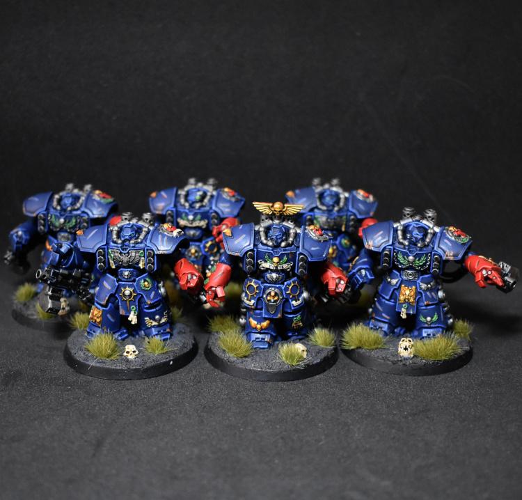 Crimson Fists Centurion Devastators