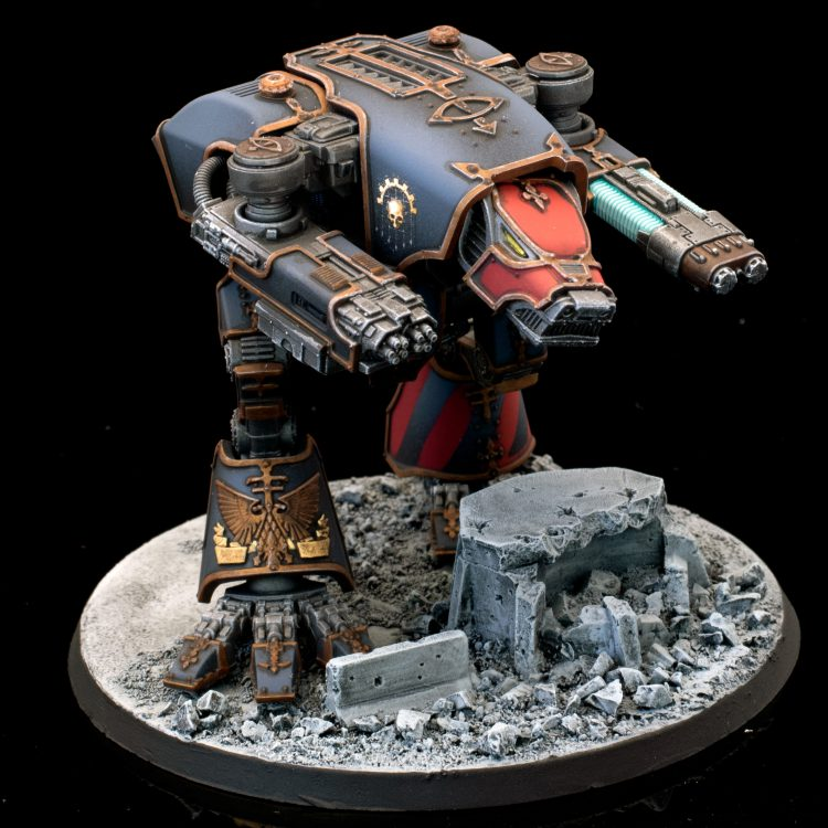 Blood Wolf, Warhound of Legio Mortis Credit: Alfredo Ramirez