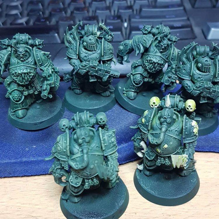 Easy Build Plague Marines