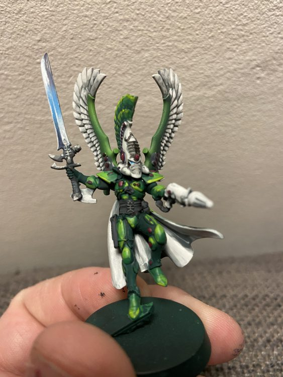 Autarch with Swooping Hawk wings