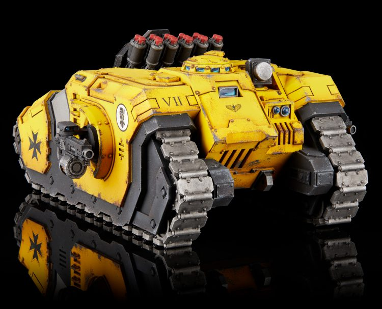 Imperial Fists Legion Arquitor Bombard