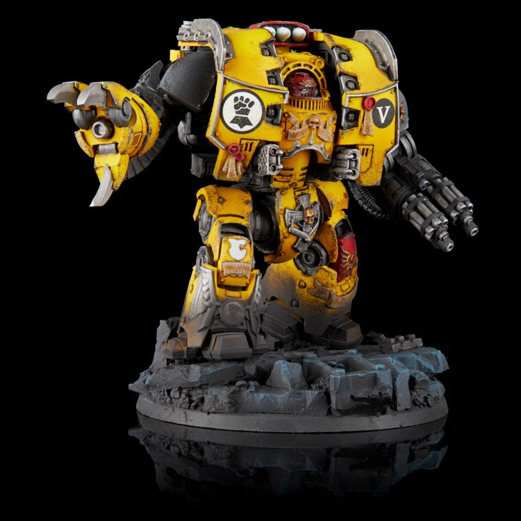 Imperial Fists converted Carab Culln Leviathan Dreadnought