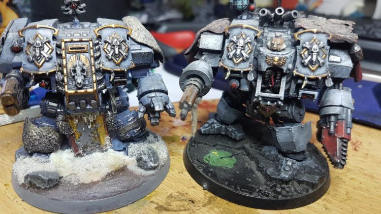 Beanith's Space Wolf Dreadnoughts