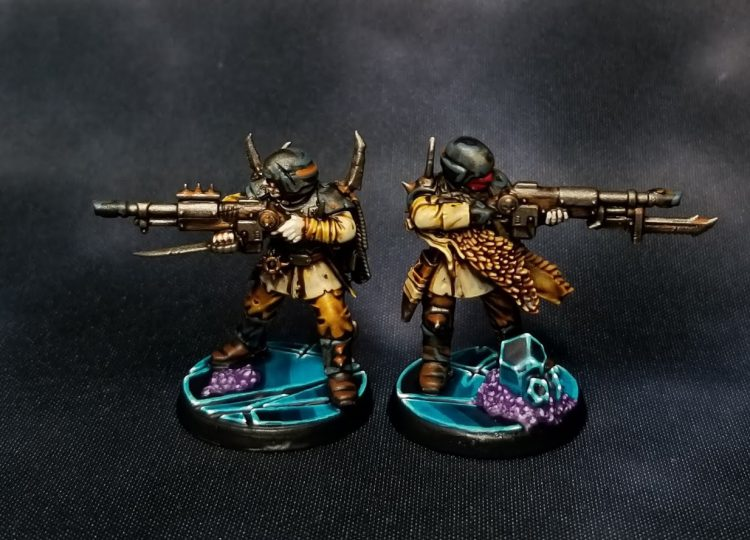 Traitor Guardsmen for Blackstone Fortress by Crab-stuffed Mushrooms