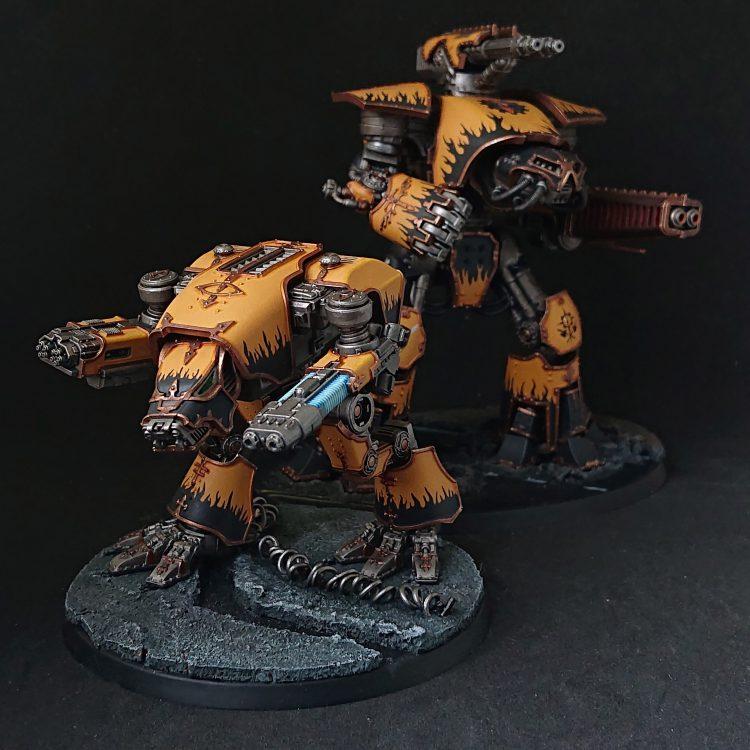 Legio Fureans Warhound and Reaver