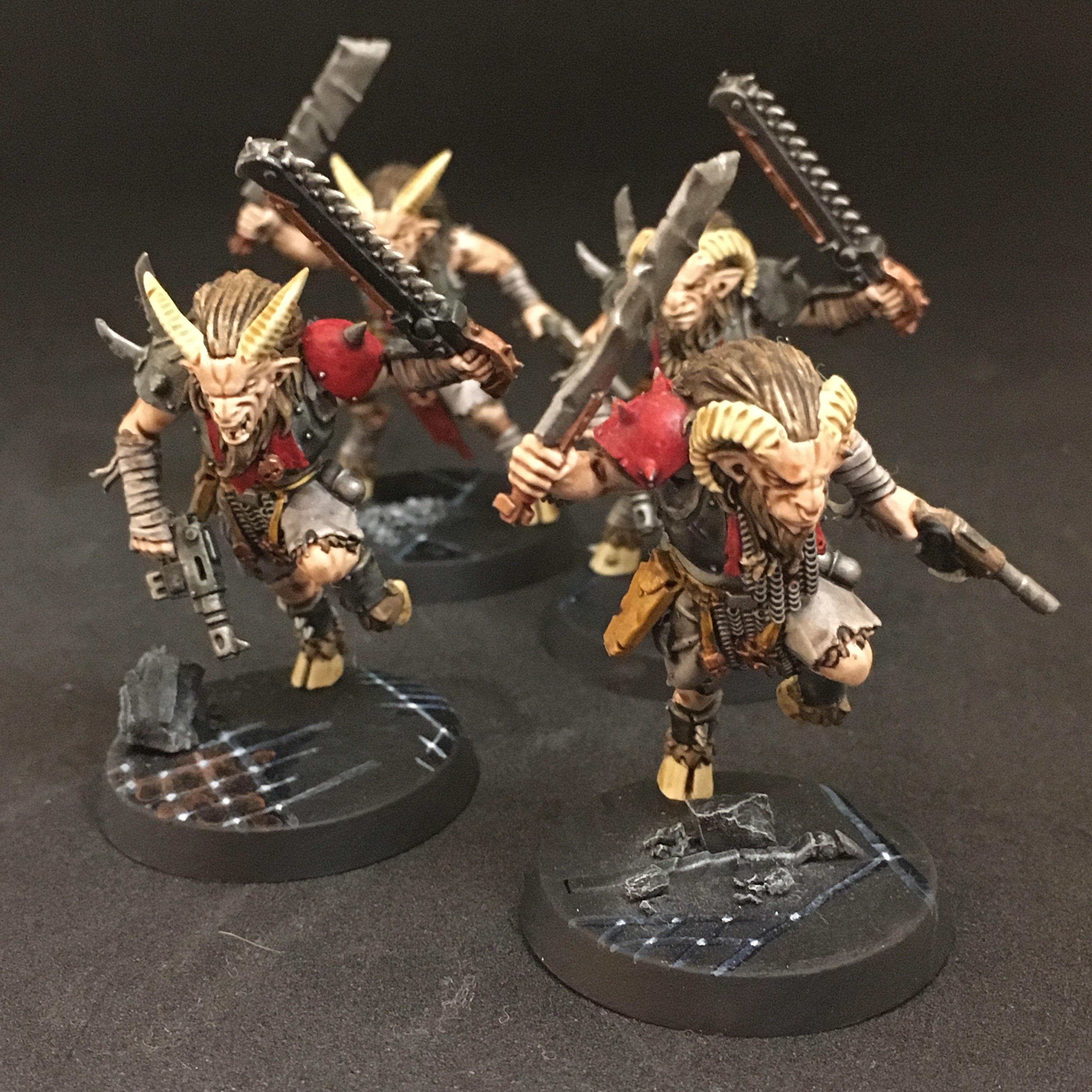 Warhammer 40k BlackStone Fortress Chaos Beastmen 4