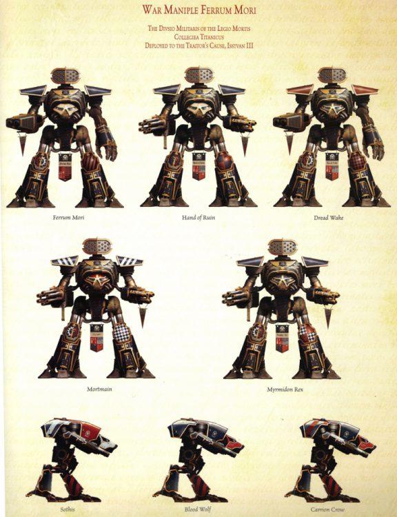 Ferrum Mani of Legio Mortis Credit: Games Workshop