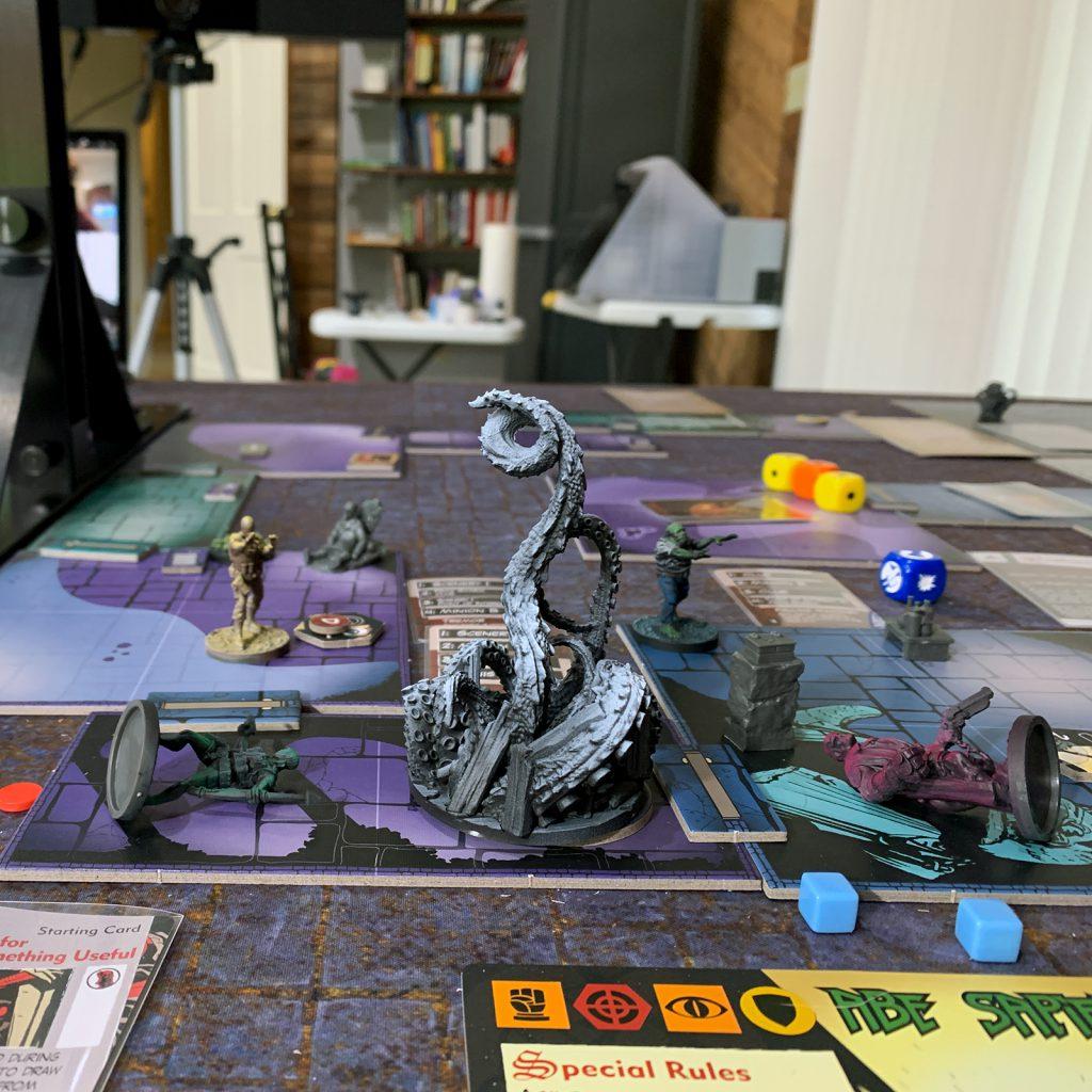 Hellboy: The Board Game Credit: Alfredo Ramirez