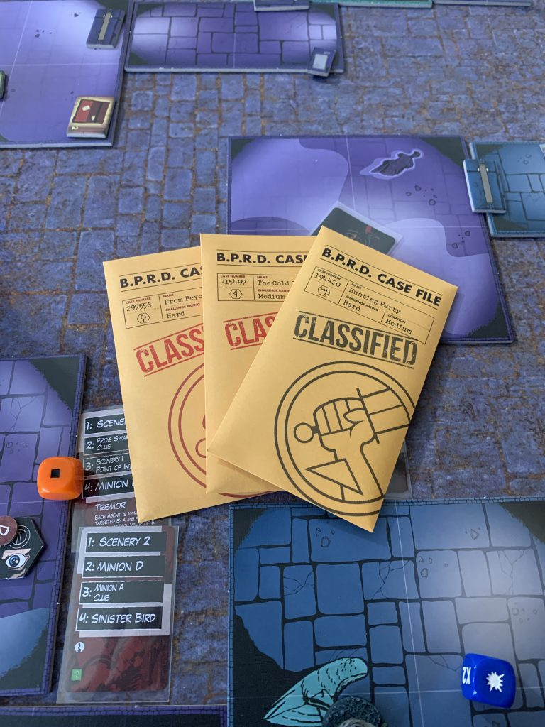 Hellboy: The Board Game Case Files