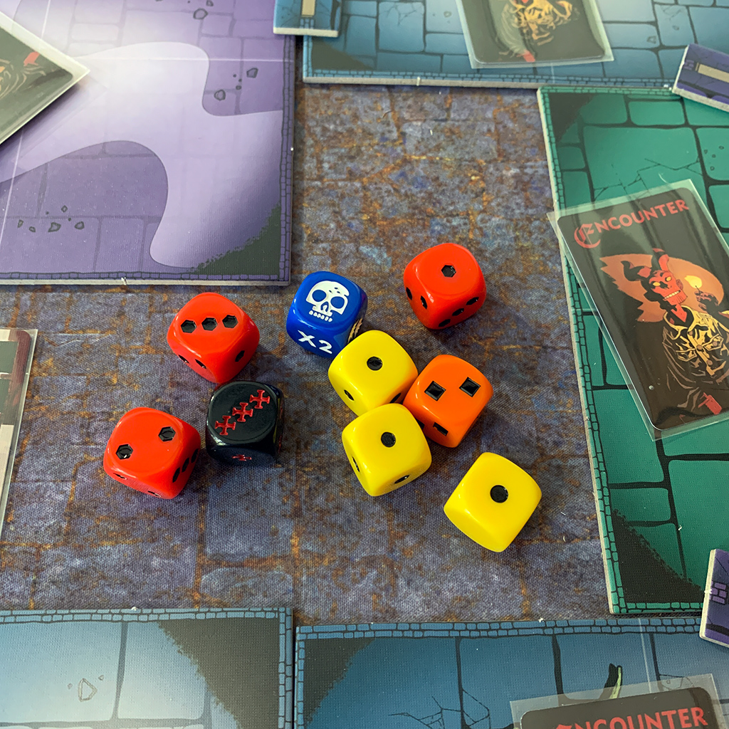 Hellboy: The Board Game Dice