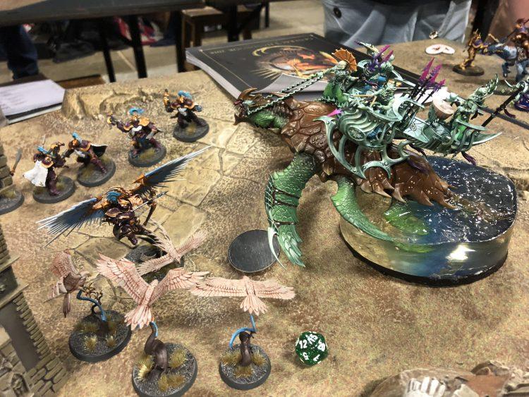 Silks Leviadon attacking