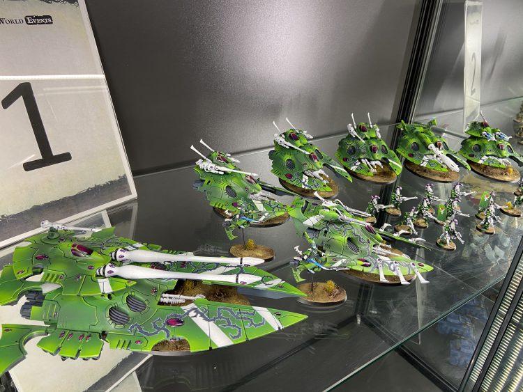 Silks Army Display 4