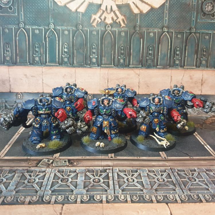 Crimson Fists Assault Centurions