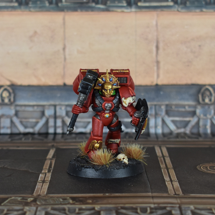 Blood Angels Slam Captain
