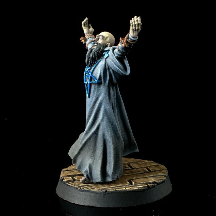 Rasputin from Hellboy: The Board Game Credit: Alfredo Ramirez