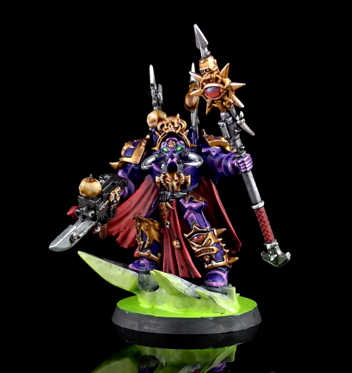 Chaos Space Marines Terminator Sorcerer