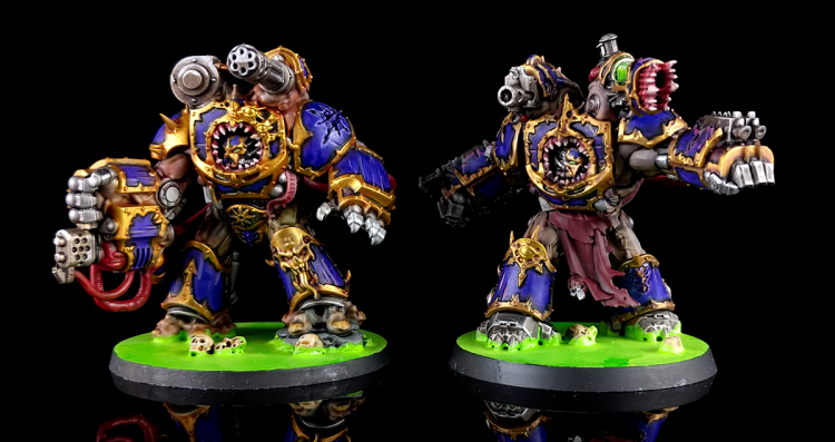 Chaos Space Marines Obliterators