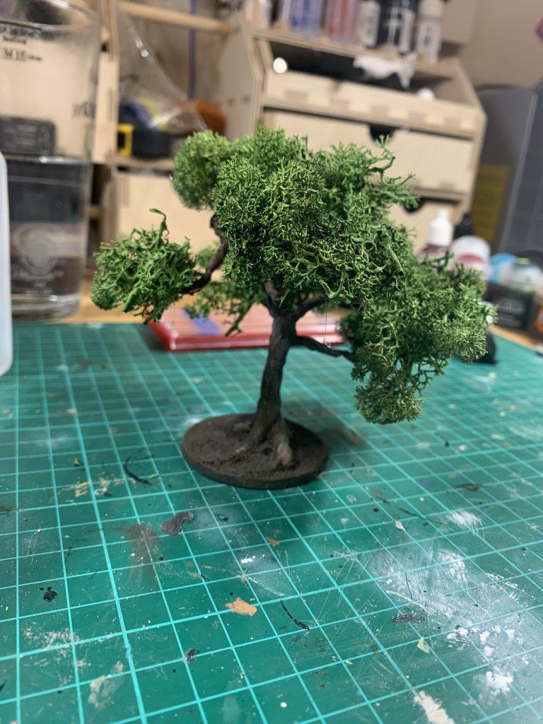 Scratch built tree. Credit: Mike Bettle-Shaffer