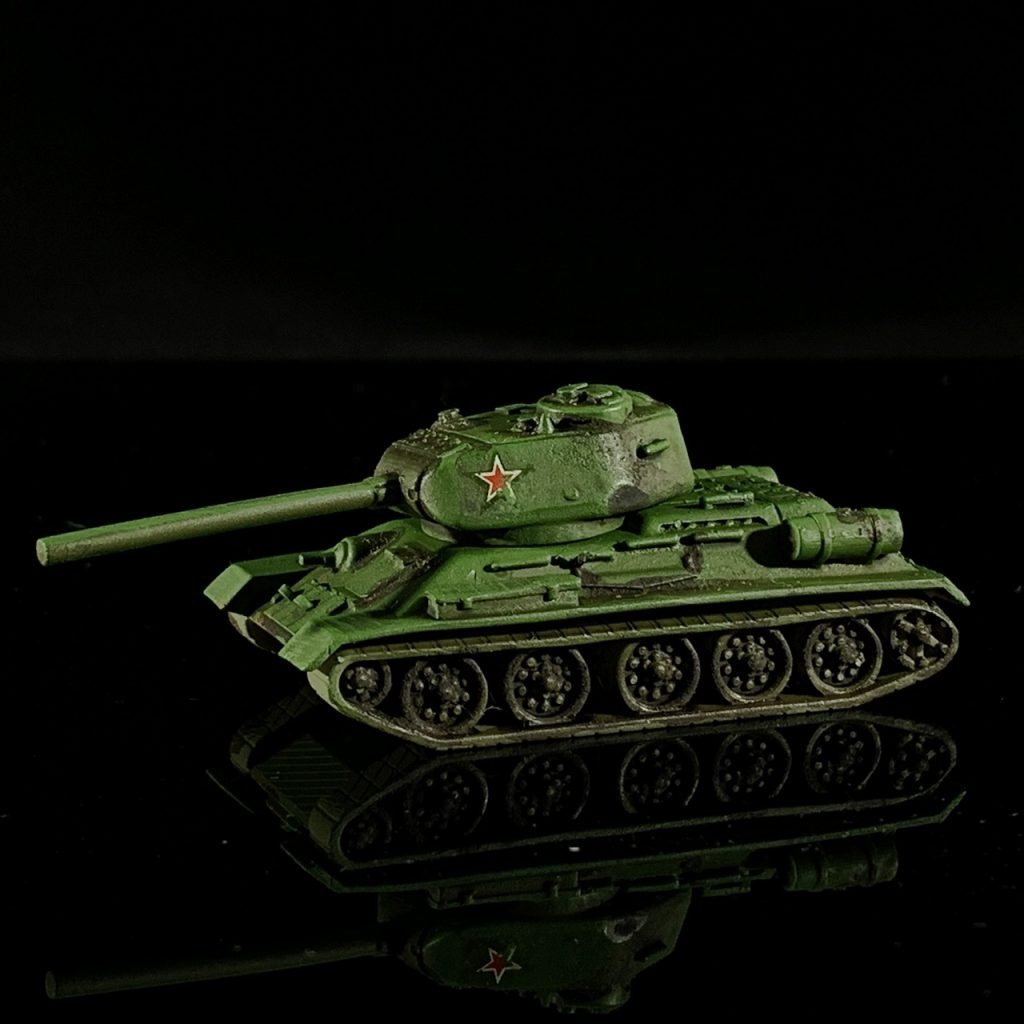 T34-85. Credit: Mike Bettle-Shaffer