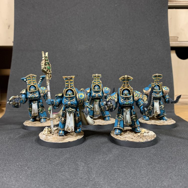 Thousand Sons Scarab Occult Terminators. Credit: Mike Bettle-Shaffer