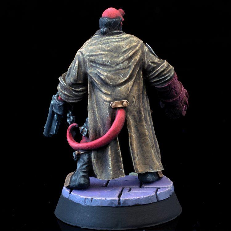 Hellboy from Hellboy: The Board Game Credit: Alfredo Ramirez