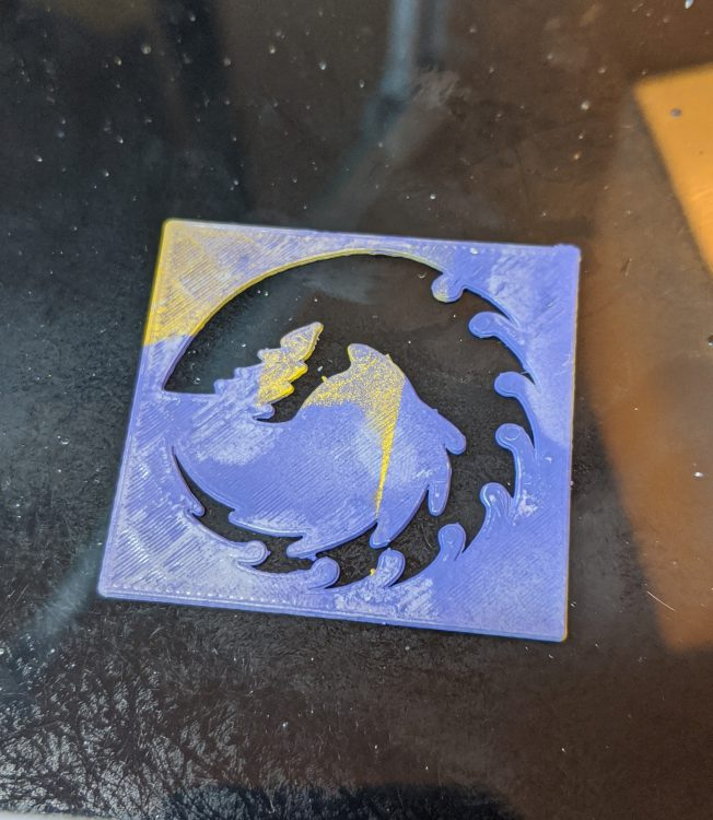 3D Printed Stencil