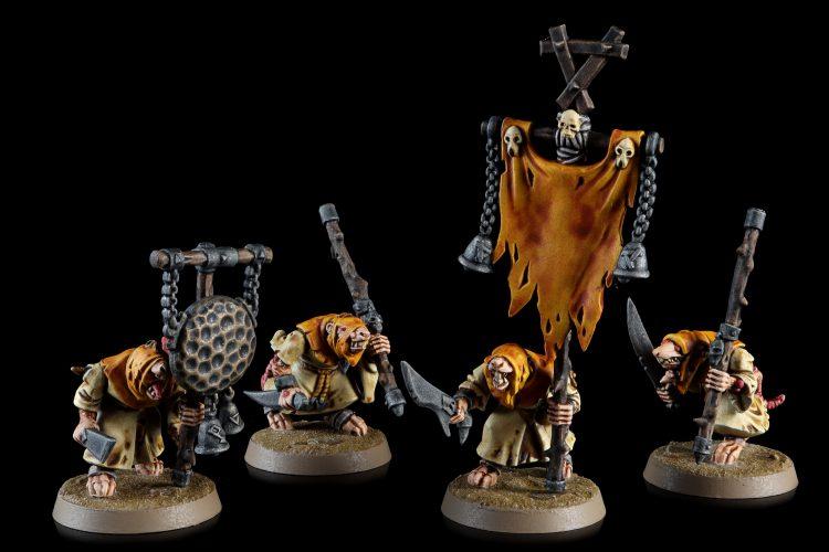 Skaven - Plague Monks