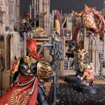 Custodes vs Gellerpox Infected