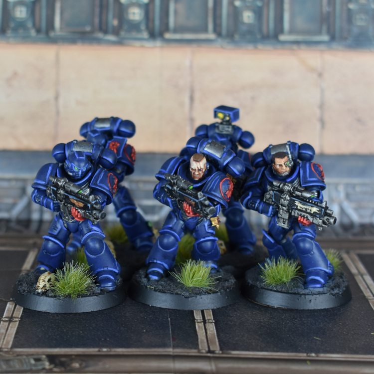 Crimson Fists intercessors