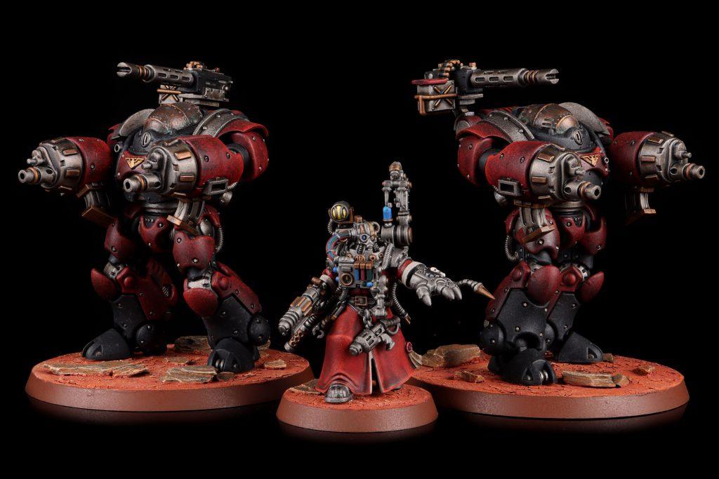 Adeptus Mechanicus - Kastelan Robots and Cybernetica Datasmith