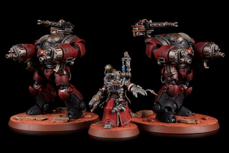 Adeptus Mechanicus - Kastelan Robots and Cybernetica Datasmith