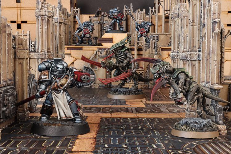 Grey Knights vs Tyranids