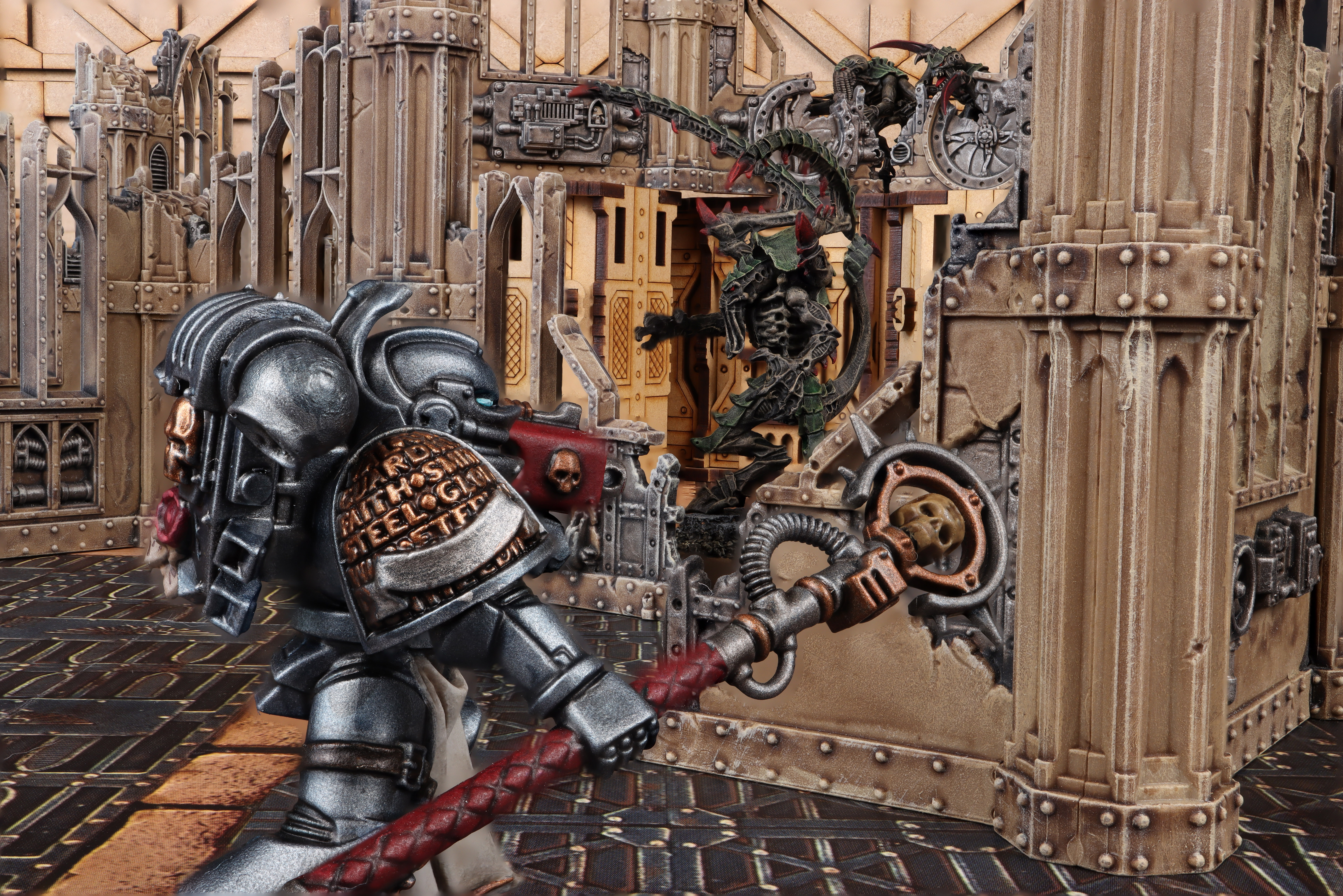Grey Knights vs Tyranids