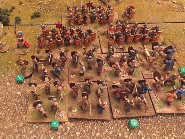 Barbarians attack with fervour