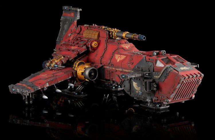 Blood Angels Thunderhawk Gunship