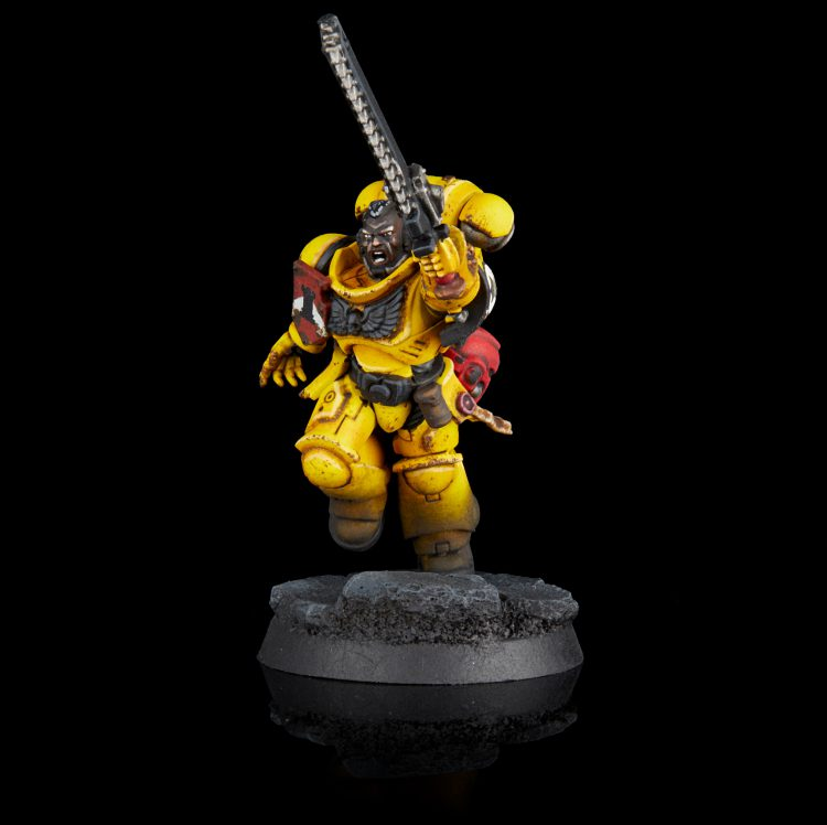 Imperial Fists Assault Intercessor