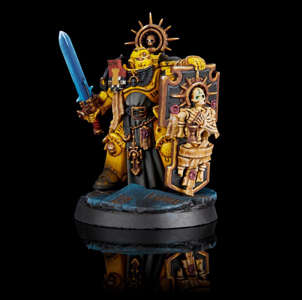 Imperial Fists Primaris Captain