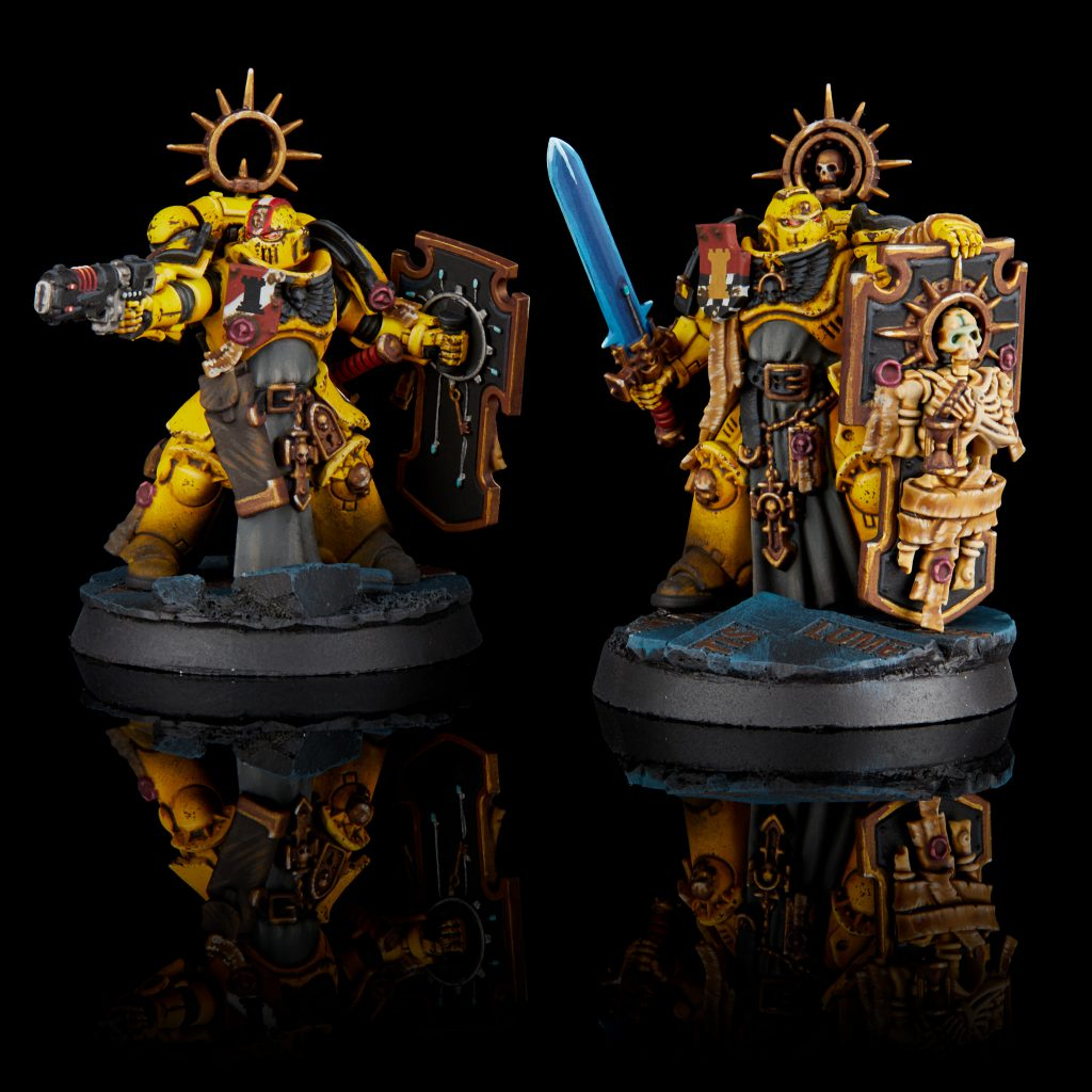 Imperial Fist Captain and Lieutenant from Indomitus