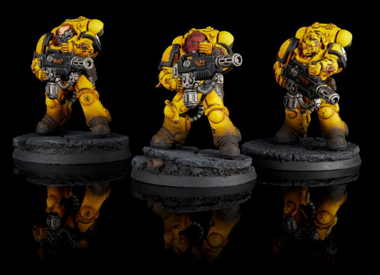 Imperial Fists Primaris Eradicators