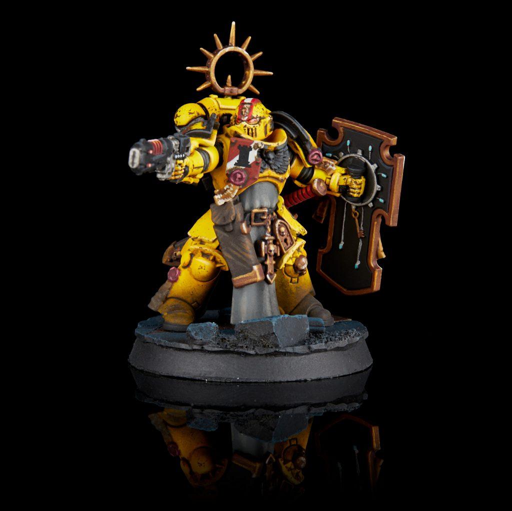 Imperial Fists Primaris Lieutenant