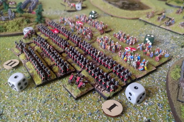 6mm romans and celts clash