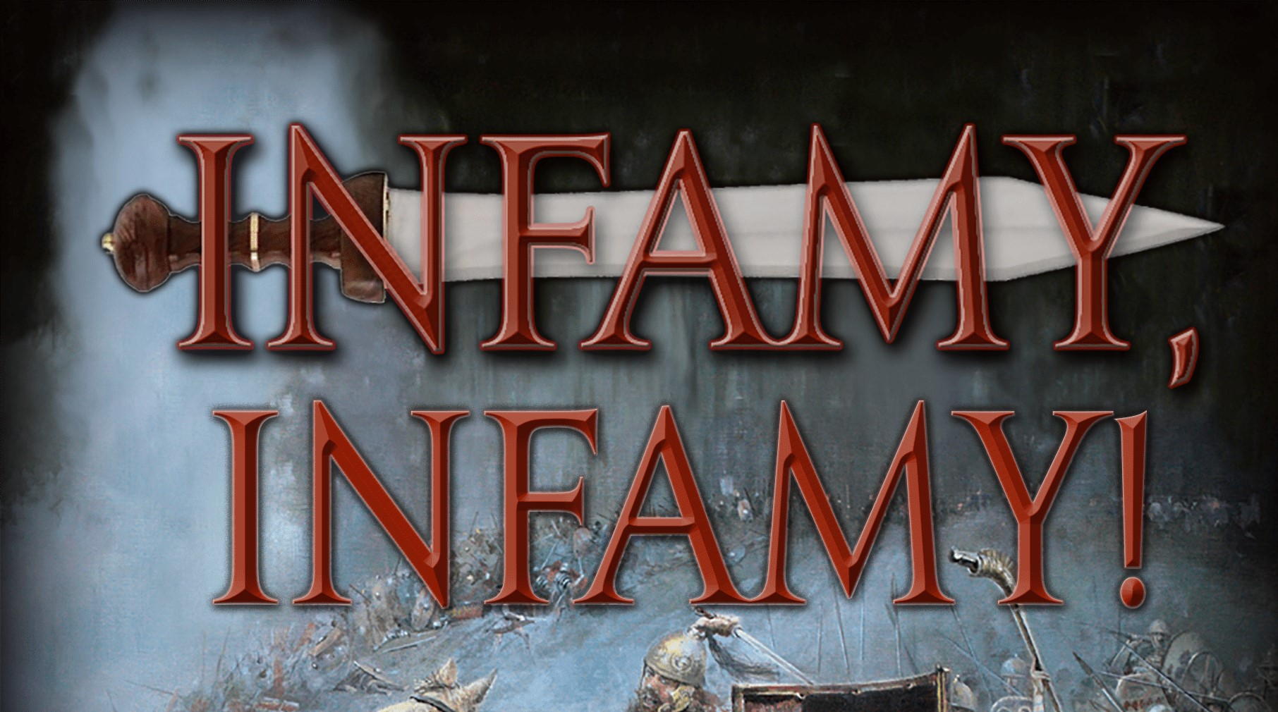 Infamy Infamy Cover Logo