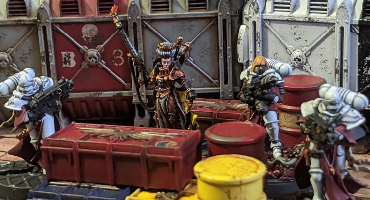Hereticus Inquisitor and Sisters Scene